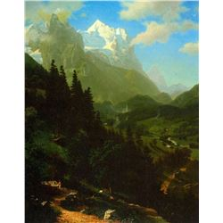 Matterhorn by Albert Bierstadt