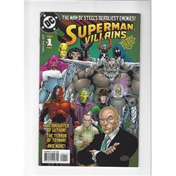 Super Villians Issue #1 by DC Comics
