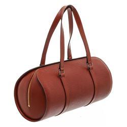 Louis Vuitton Brown Epi Leather Soufflot Shoulder Bag