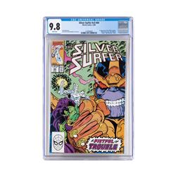 The Silve Surfer Issue #44 by Marvel Comics CGC