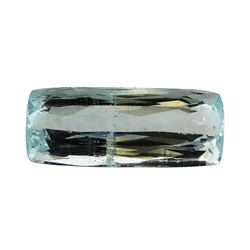 5.81 ct.Natural Cushion Cut Aquamarine