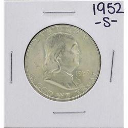 1952-S Franklin Half Dollar Coin