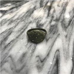 8th-9th Century AD Dug Artifact Bronze Christian Pilgrim's Ring
