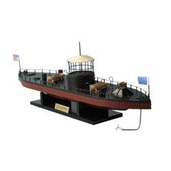 "Monitor Limited Civil Warship Model 21"""