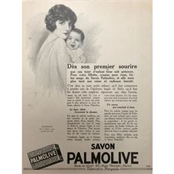 1920's French Advertisement, Palmolive Soap