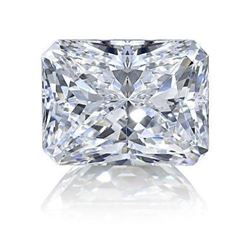 9ct Radiant Cut BIANCO Diamond