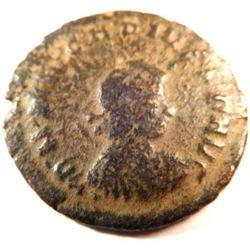 Bronze Coin of Arcadius (383-408 A.D.)