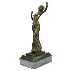 Venus Aphrodite Goddess of Beauty Bronze Statue by Preiss
