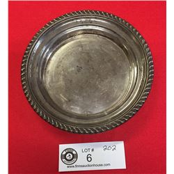 85 grams Birks Sterling Circular Tray. 5.75  Diameter