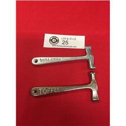 2 Walker's Toffee Hammers