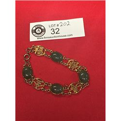 A Nice Chinese Jade Bracelet