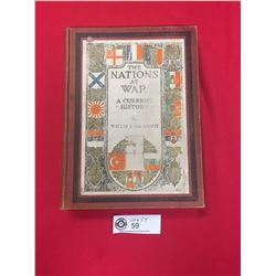 """""""1917  The Nations at War"""" Hard Cover Book About WW1"""