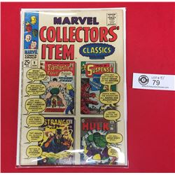 Marvel Collector's Item   #9 January 1967 Silver Age On Cardboard in Comic Bag Harder to Find