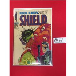 Nick Fury, Agent of Shield #5 1968 On Cardboard in Comic Bag. Hard to Find