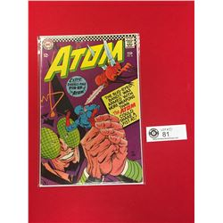 The Atom # 26 1966 Silver Age Comic Book. Bug Eyed Bandit. Very Nice Comic on Carboard in Bag