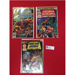 3 Marvel Classics Comics  All in Comic Bags and on Cardboard.