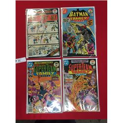 Lot of 4 DC Comics Super Team Family Giant #9 & 10 The wild and Wacky World of Sergio Aragones, Batm
