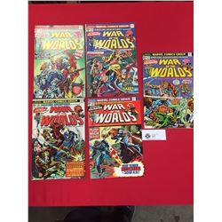 Marvel Comics War of the Worlds #23,24,25,26,28