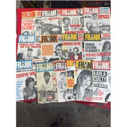14 Issues of Frank Magazine1994-1996 Canadian Political News Humour to News