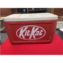 "Vintage Kit Kat Coleman Cooler. Promotional Cooler 24"" x 13"" x13"""