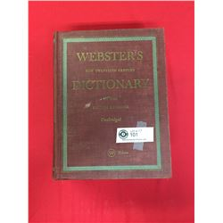 1949 Webster's Dictonary