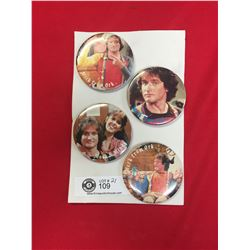 Vintage Mork and Mindy Buttons