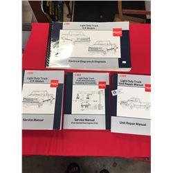 4 GMC Truck Light Duty Truck Service Manuals