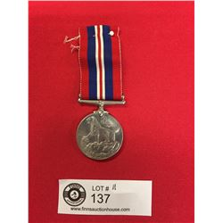 WWII British/ Canadian 1939-1945 Service Medal.