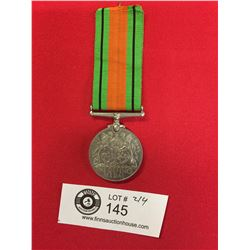 WWII Canadian/British The Defense Medal