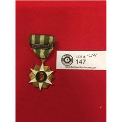 Vietnam War US Army Forces Republic of Vietnam Campaign Medal 1960 Clutch Back