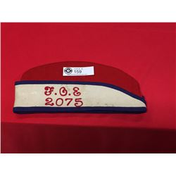 F.O.E. Fraternal Order of Eagles Hat  #2075 Vancouver BC