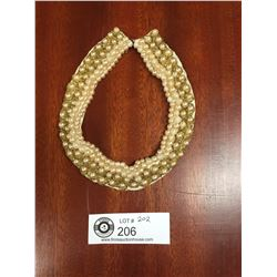 1940's Pearl Collar Necklace
