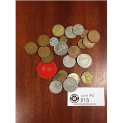 Lot of World Coins and Tokens