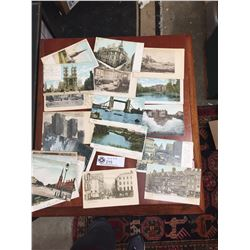 27 Early Postcards