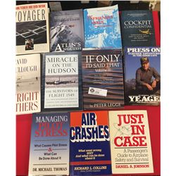 11 Books on Flights, Planes and Crashes