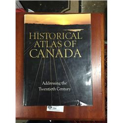 "Hard Cover Book "" Historical Atlas of Canada"""