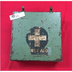 Vintage Vancouver BC Flex Brothers 1950's Waterproof First Aid Kit