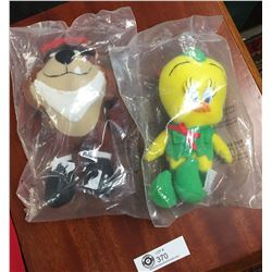 1992 Looney Tunes Taz and Tweety Bird Mc Donald's Toys When McDonald's gave out Bigger Toys