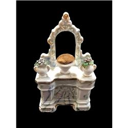 19thc German Conta Boehme Porcelain Fairing Box