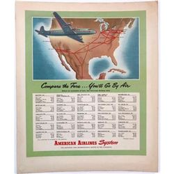 1940's American Airlines Magazine Ad