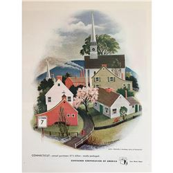 1948 Container Corporation Connecticut Ad