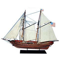 "Wooden Prince de Neufchatel Model Ship 24"""