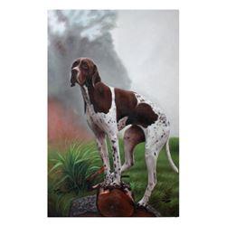 Hunting Dog 24x36