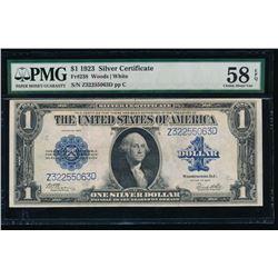 1923 $1 Silver Certificate PMG 58EPQ