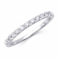 14KT White Gold 0.22ctw Diamond Ring