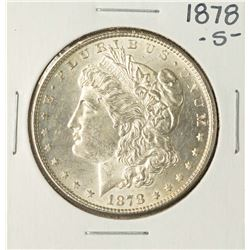 1878-S $1 Morgan Silver Dollar Coin
