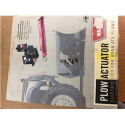 Plow-Actuator