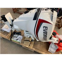 Boat Motor: 25 H.P. Evinrude with Gas Tank