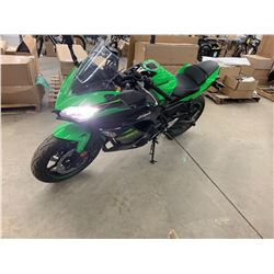 Motorcycle: 2018 Kawasaki NINJA 650 ABS
