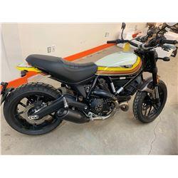 Motorcycle: 2018 Ducati Scrambler 800 MACH 2.0